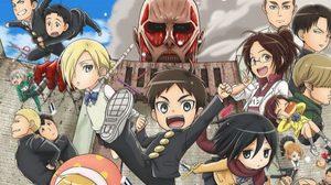 หน่วยสำรวจฉบับรั้วโรงเรียน Shingeki! Kyojin ได้เป็นอนิเมะแล้ว