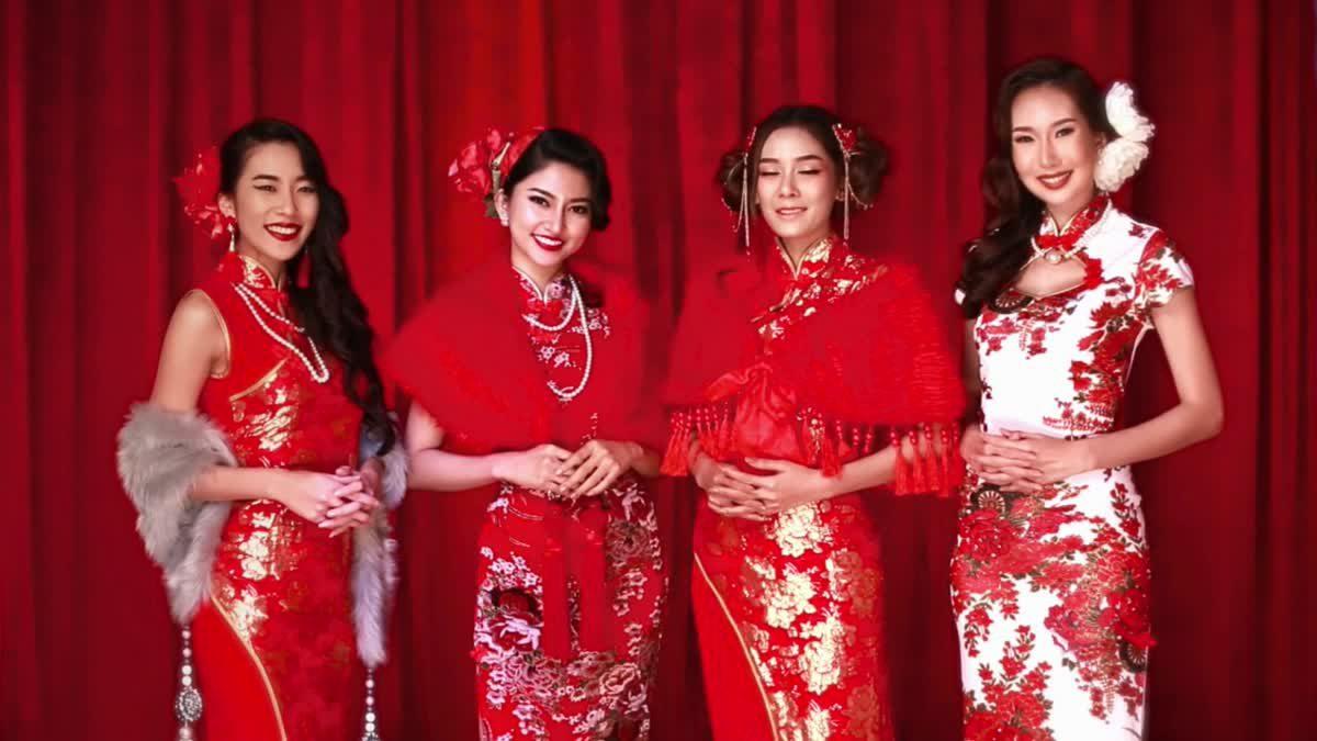 น้ำมนต์, ป็อป, กุ๊กกิ๊ก สาวๆ Bunny Playboy อวยพร ต้อนรับวันตรุษจีนตรุษจีน