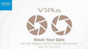 มาแน่!! Vivo V5 Plus สมาร์ทโฟน กล้องหน้าคู่ เปิดตัว 23 ม.ค.นี้
