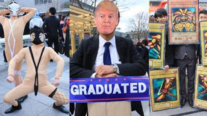 ไอเดียเป็นเลิศ!! ภาพ พิธีจบการศึกษา ฮาๆ จากมหาวิทยาลัยเกียวโต ที่คุณต้องอมยิ้ม