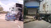 กรมทางหลวง เตือน 4 จุดบอดรถบรรทุกมองไม่เห็น อย่าเข้าใกล้