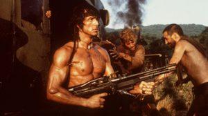 """""""ซิลเวสเตอร์ สตอลโลน"""" ระห่ำอีกแล้ว! ยิงไม่เลี้ยงใน Rambo 2"""
