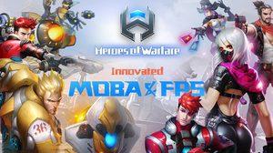 เตรียมสาดกระสุน! Heroes of Warfare เปิด Pre-Register รับไอเทมเพียบ!