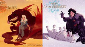 Game of Thrones เวอร์ชั่น Disney มันเจ๋งและน่าดูไม่แพ้ต้นฉบับเลย