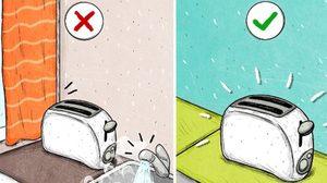 วิธีถนอม เครื่องปิ้งขนมปัง ให้ใช้งานอย่างมีประสิทธิภาพ และ อยู่กับเราไปนานๆ