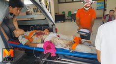 สยอง! คนงานเลื่อยไม้ถูกใบเลื่อยตัดนิ้วมือขาด 4 นิ้ว เลือดไหลนองพื้น