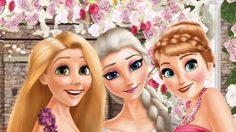 เกมส์แต่งตัวเจ้าหญิเอลซ่าแต่งงาน Wedding Elsa