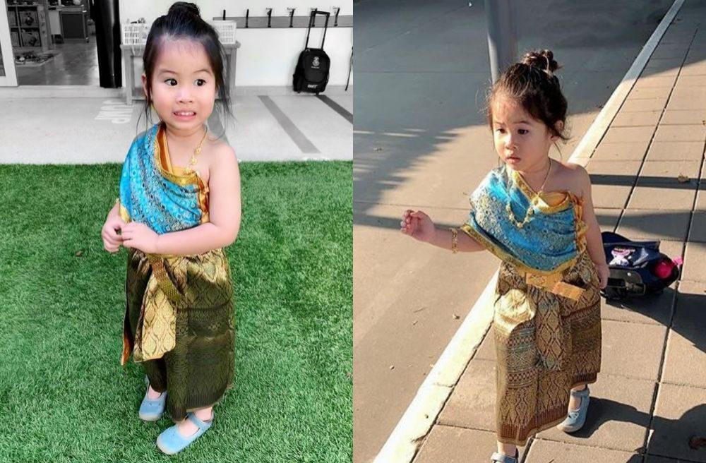 น้องมายู ลูกสาว หนุ่ม-เมย์