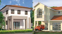 10 แบบบ้านสองชั้น แบบบ้านสวยๆ พร้อมราคาก่อสร้าง