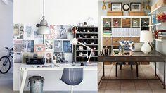 ไอเดียแต่ง โต๊ะทำงาน ให้สวยด้วยโคมไฟหลากสไตล์ และเทคนิค จัดแสง ให้ ห้องทำงาน