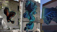 งาน ศิลปะ 3 มิติ ที่พบเห็นได้ตามข้างตึกสูงในประเทศเยอรมัน