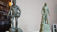 เผยรูปปั้นเหมือน 'จ่าแซม' จากศิลปิน สราวุฒิ คำมูลชัย ก่อนสร้างจริง