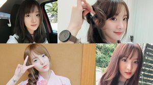 ออร่าพุ่ง! หน้าสวยใสสไตล์เกาหลี เนเน่ พรนับพัน หรือเนเน่ Milkshake