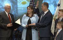 ผู้บริหาร NASA คนที่ 13 สาบานตนเข้ารับตำแหน่ง