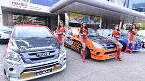 Isuzu เปิดศึกชิงเจ้าแห่งความเร็วในการแข่งขันรถยนต์ทางเรียบแห่งปี  ISUZU ONE MAKE RACE 2018