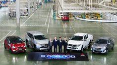 Mitsubishi Motors ประเทศไทย ฉลองความสำเร็จ ผลิตรถยนต์ครบ 5 ล้านคัน