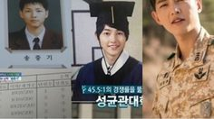 เผยชีวิตวัยเรียน พระเอกสุดฮอต ซงจุงกิ
