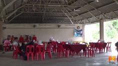 แปลกแต่จริง!! ชาวบ้านเมืองพะเยาพากันจัดงานเลี้ยงโต๊ะจีนผีป่าช้า