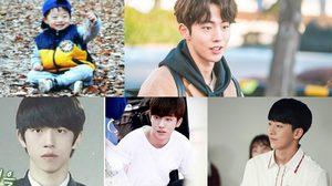 """ย้อนวัยเด็ก นายแบบ-นักแสดงสุดหล่อจากเกาหลี """"นัมจูฮยอก"""""""
