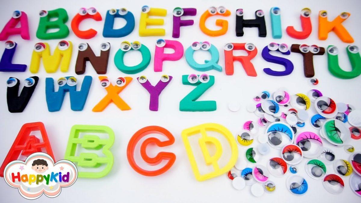 แป้งโดว์ ABC | เรียนรู้ A-Z | เล่นแป้งโดว์ | ท่อง ABC | Learn Alphabet With Playdoh