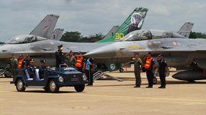 กองทัพอากาศ จัดงานเกียรติยศ ครบรอบ 30 ปี เอฟ-16