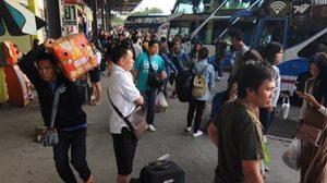 บขส. คาด คนเดินทางวันนี้แตะ 1.9 แสนคน เสริมรถเพิ่ม 1,850 เที่ยว