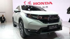 Honda CR-V ไฮบริด เปิดตัวครั้งแรกในโลก ที่ Auto Shanghai 2017