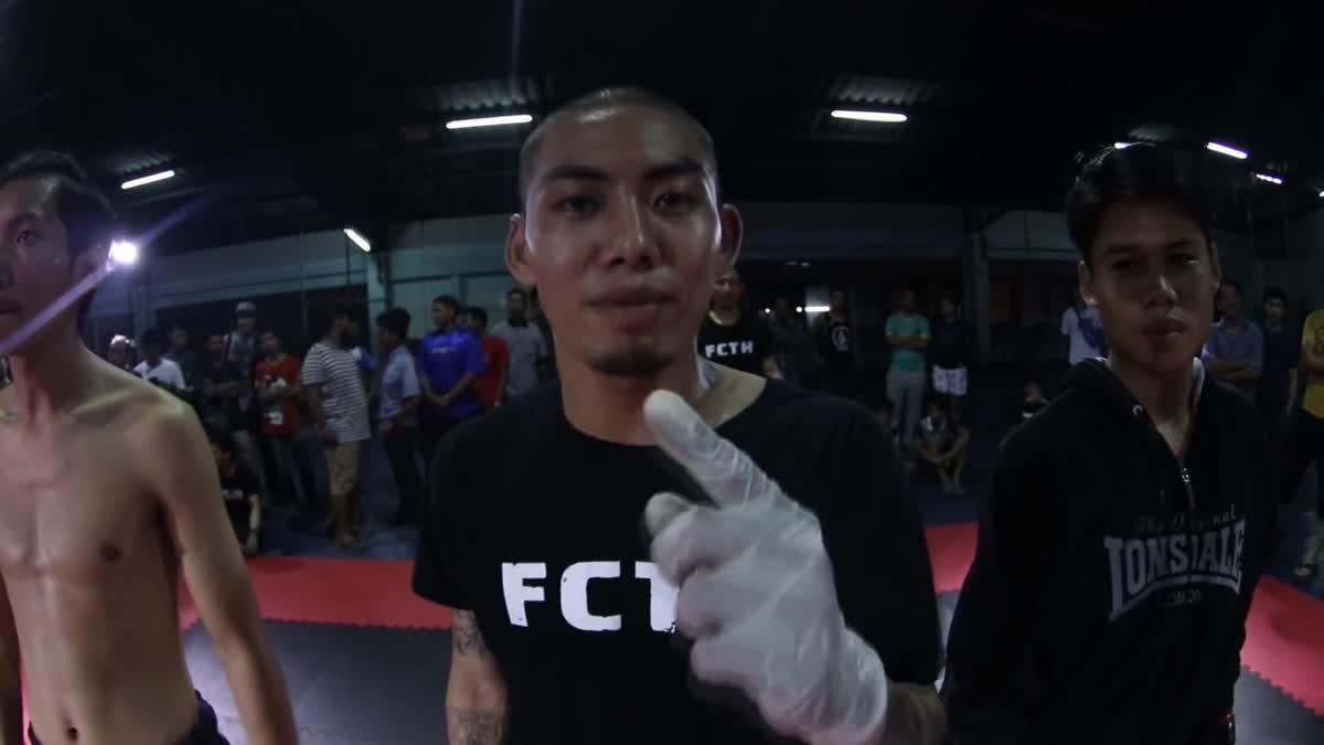 Fight Club Thailand ใต้ดิน ภูมิเพชรเกษม x ทอย คู่ที่ 117