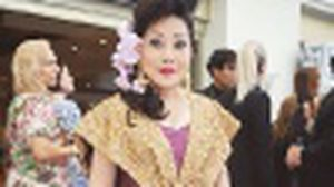 ปังกว่า! ซูซี่ หทัยเทพ ธีระธาดา สวมชุดไทย เดินพรมแดงเมืองคานส์ 2015 เทียบชั้น ชมพู่ อารยา