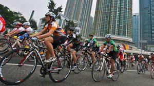 ฮ่องกง ไซโคลธอน กิจกรรมการแข่งขันจักรยานครั้งแรกในฮ่องกง