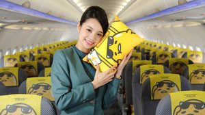 EVA Air เครื่องบินไข่ขี้เกียจ Gudetama