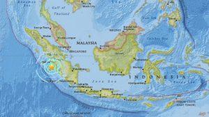 แผ่นดินไหว 6.5 แมกนิจูด ทางตอนใต้เกาะสุมาตรา
