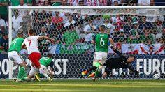 บุกทั้งเกมได้แค่ลูกเดียว! มิลิก ฮีโร่พา โปแลนด์ อัด ไอร์แลนด์เหนือ 1-0