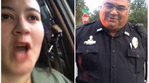 สาวผวาเจอตำรวจเรียกให้จอด สุดท้ายเหตุการณ์กลับพลิกล็อค !!