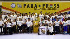นักพาราลิมปิกปลื้ม สื่อมวลชนแห่ให้กำลังใจ ใน พารา-เพรช ครั้งที่ 3