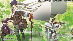 การ์ตูน อนิเมะ Log Horizon ซีซั่น 2 ตุลาคม 2014 นี้!!