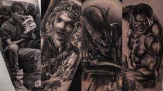 ความสวยงามของศิลปะบนร่างกาย รังสรรค์ผลงานโดย ช่างสัก ชาวเบลเยี่ยม