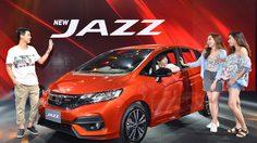 Honda Jazzใหม่ ตอกย้ำความเป็นยนตรกรรมแฮทช์แบ็ก 5 ประตู ยอดนิยม ราคาเริ่มที่ 5.55 แสนบาท