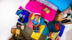 ห้องนอนของ หยวน อายุ  22 ปี อาชีพ พนักงานขาย เมืองต้าหลี่ ประเทศจีน