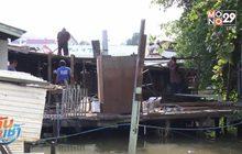 กทม.รื้อย้ายบ้านรุกล้ำริมน้ำ รับโครงการทางเลียบเจ้าพระยา