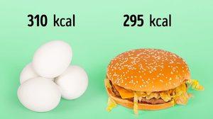 นับแคลอรี่! เทียบให้เห็นชัดๆ 14 ภาพอาหารที่เคยกิน แท้จริงเป็นแบบนี้หรอ?