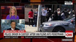 คืบหน้าเหตุรถตู้พุ่งชนคนบนฟุตบาธในแคนาดา ตาย 10 เจ็บ 16 คน