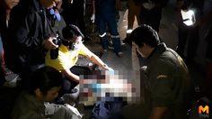 นักเรียน ม.6 ขี่บิ๊กไบค์ แซงรถบรรทุกเสียหลักดับ 1 เจ็บ 1