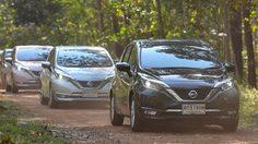 ขับ Nissan Note ลุยเข้าป่าศึกษาปรัชญาวิถีพอเพียงกับ ดร. เกริก