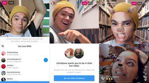 Instagram อัพเดทฟีเจอร์สามารถเพิ่มเพื่อนมาร่วมไลฟ์สดได้แล้ว!