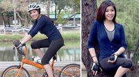 จูน เอสเธอร์ สาวนักปั่นหน้าใหม่กับจักรยานคู่ใจไซส์น่ารักในรายการ Spin Spin
