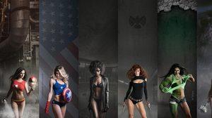 20 ภาพเซ็กซี่คอสเพลย์ตามสไตล์ Superhero ดูไปฟินไป