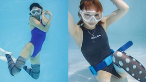 นิทรรศการผลงานศิลปะ ถุงเท้าใส่ว่ายน้ำ จากนางแบบญี่ปุ่นสุด Sexy