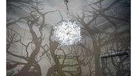 ประติมากรรม โคมไฟ  ดีไซน์ และ แสงเงา ยกป่าเงาเทพนิยายมาไว้ในห้อง