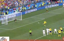 สวีเดนอาศัย VAR ได้จุดโทษเฉือนเกาหลีใต้ 1-0